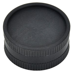 Portátil 40mm Dos capas Amoladora de plástico degradable de 5 colores Logotipo personalizado disponible Recipiente de fumar cigarrillos