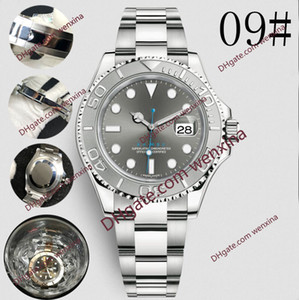 Deluxe Men 40mm Automatic high quality watch Stainless SteelWaterproof Super Luminous Mens Mechanical Orologio di Lusso Wristwatch steel