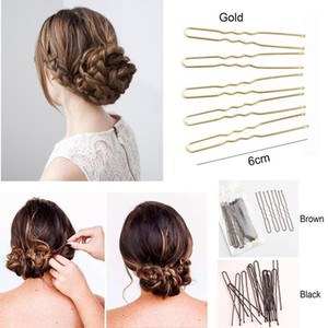 18pcs Hair Stick U Shaped Wedding Elegant Pearl Hair Stick Headdress Hairpin Accessories For Bridal Wedding Hair Acc qylmHG