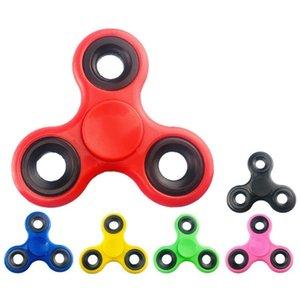 El Fidget Spinner Fidget Oyuncak Parmak Oyuncak Dekompresyon Oyuncaklar Rahatları Stres Parmak Parmak Gyro Tri-Spinner Toptan