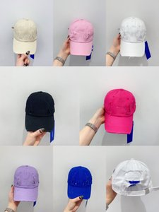 2021 Fashion Baseball Caps Designer Caps Hats Hole Wash Water High Quality Pure Cotton Sun Hats Casual Hat Spring Autumn Breathable Ball Cap