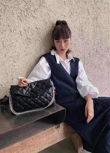 luxurys designers cowhide CC Channel Women Bags handbag fashion messenger shoulder crossbody wallet tote designer bag high quality handbags 31x21cm WJQ