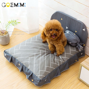 Dog Bed Cushion for Large Dog Lovely Puppy Breathable Dog House Pad Pet Nest Sofa Blanket Mat for Animals 73 S2