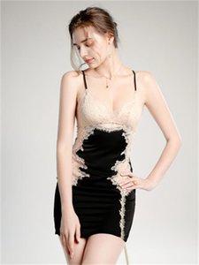 , Sample Medusa Sexy Underwear Lace Stitched Hollow Suspender Nightdrs