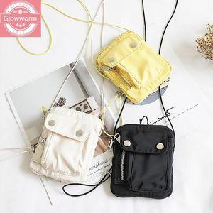 New Arrival Summer Cellphone Bag For Women 2020 Lovely Nylon Crossbody Bags Fashion Shoulder Bags Female Handbags Casual Style C0225