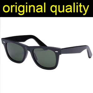 Top Qualität 2140-50mm 54mm Glas Objektiv Sonnenbrille Herren Frauen Acetatrahmen Sonnenbrille Männer Frauen Original Ledertasche Pakete