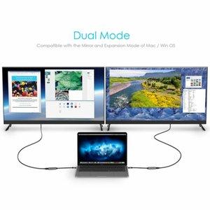 Usb-c до цифрового адаптера hdmi av с 4k / 60hz, совместимый с Thunderbolt 3, отлично подходит для видео и аудио дисплеев (Space Grey)