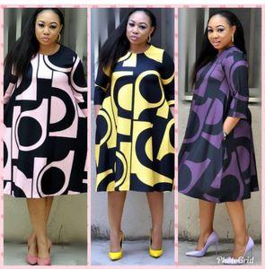 Super size New style African Women clothing Dashiki fashion Print cloth dress size L XL XXL 3XL