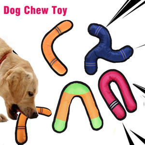 Pet Dog Chew Toy Training Interactive Throwing Sounding Darts Boomerang Reflective Oxford Molar Teether Bite Resistant Pet Supplies YL0271