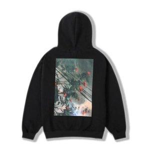 DIOS Sudadera oodada suéters Essentials Nuevos reflexivos Hombres de Oodie Pareja de manga larga La Fleece Miedo Oodado Mujeres Algodón 19FW FXWY087 # RSVB