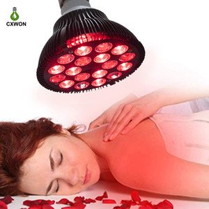 Red Light Therapy 660nm 850nm 36W 18LEDs Near Infrared Lamp Therapy with Socket for Home Use LED Infrared Bulb Therapy