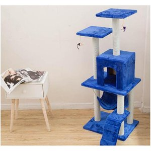 New Cat Tree Tower Condo Furniture Scratch Post Cat Pet House Play Climbing Frames Scratchin jlllUw outbag2007