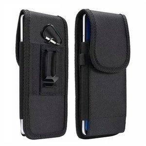 Универсальный спортивный нейлоновый ремень клип кожаный сотовый телефон чехлы кожаный чехол для iPhone Samsung Huawei Moto LG талии пакет сумка Flip Moblie Cover