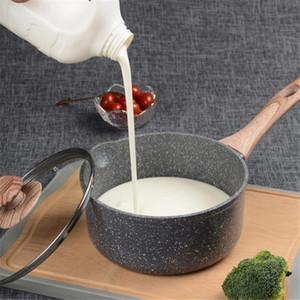 Pote de leche Non-Show Pot Home Baby Baby Suplemento para niños Maifan Piedra Leche Sopa Cocina Freír Pan Wok Pan