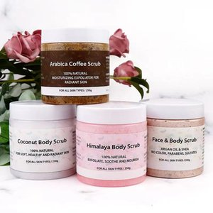 Coffee Suger Body Scrub for Exfoliant and Whiteing Deep Cleansing Go Cutin Dead Skin Treatment Acne Moisturizing Health Care