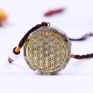 Life Spirit Customization Aura Orgonite Energy Pendant Necklace Birthday Necklace Amulet For Men And Women Jewelry Gift Wicca