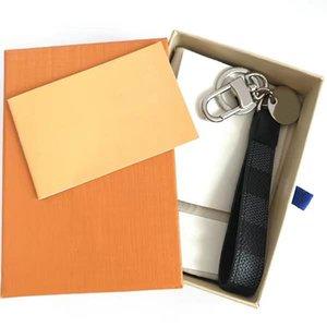 2021 Chaveiro Chaveiro Chaveiro Chaveiros Chaveiros Carro Homens Handmade de Couro Homens Mulheres Sacos Pingente Acessórios 9 Color Estilo com Caixa De Poeira Saco