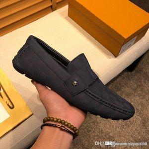 A4 Design Mann Echtes Leder Müßiggänger Schwarz-Weiß-Männer Formale Schuhe Bankett Bevorzugte Beliebte Kleidschuhe Mischfarbe Hohe Qualität