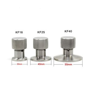 Vacuum Relief Valve Vent Stainless Steel 304 Sanitary Vacuum Flange Fitting Vent Relief Valve for KF16 KF25 KF40