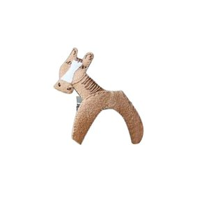 Hair Accessories Fashion Design Creative Funny Animal Pattern Girl Hairpin Cute Non-woven Fabric Ornament Decoration Jewelry Gifts