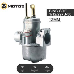 오토바이 연료 시스템 ZS MOTOS 빙기 용 MOTOS 12mm MOPED SRE 1 / 12 / 297B-50 MANET PUSH CASAL Zundapp 50 / 60cc