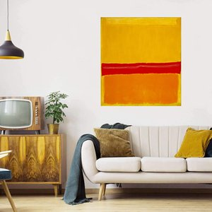 Mark Rothko Number 22 Painting Home Decoration Handcrafts  HD Print Oil Painting On Canvas Wall Art Picture 210226