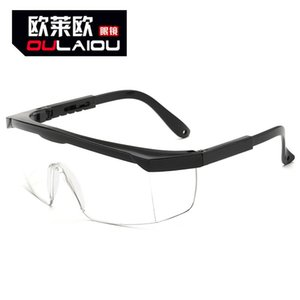 Goggles, Protective Glasses, Blinds, Labor Protection, Splash, Safety, Dustproof, Transparent Eyes, Industrial Glasses for Men and Women