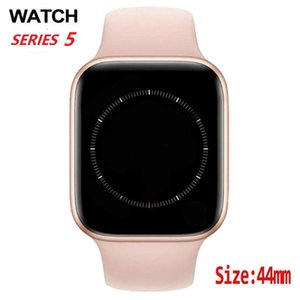 GOOPHONNE SMART WATCH SERIES 5 44MM SmartWatch Bluetooth Calling IP67 Bracelet Sport Musique imperméable pour iPhone Huawei iOS Android