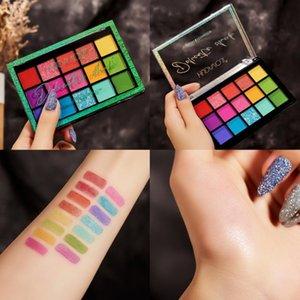 Eye Shadow 15 Color Matte Eyeshadow Palette Glitter Waterproof Long Lasting Make Up Pallet Shimmer Women Beauty Eyes TSLM1
