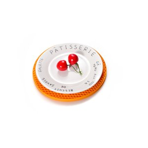 60 جرام سيليكون حصيرة العسل 15 ألوان جولة سيليكون تحديد الموقع القرص حصيرة وعاء وعاء حصيرة owd4991