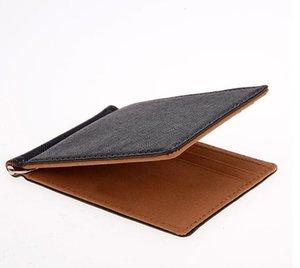 Designer Unisex Business Wallets Luxury Women Hand Bag Man Formal Wallet Fashion Classic Black Purse High Quality Plain Wallet handbags B323
