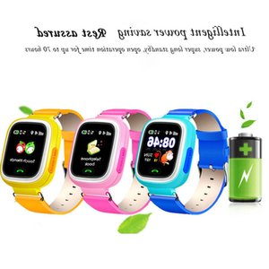 AD Anti-lost Q90 Position GPS Screen Kid Phone 1.22 Children inch Touch Smart SOS Watch Baby Call Location Tracker Smartwatch G22 992