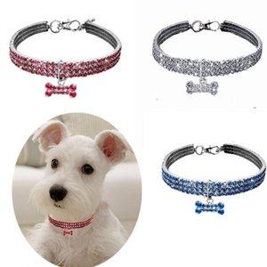 Bling Crinshone Pet Wollech Собака Cat Crystal Puppy Chihuahua Hollars Повод для маленьких средних собак Mascotas Admonds Accountry