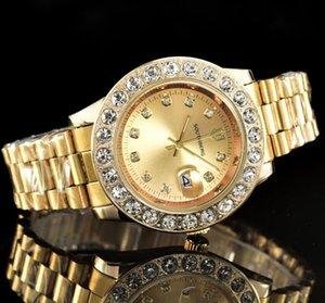 U1 Качество Montre de Luxe Mens Автоматические часы Полная нержавеющая Сталь Светающие Женщины Часы Пары Стиль Классические наручные часы Reloj