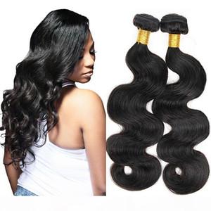 Brazilian Body Wave Unprocessed Virgin Hair Bundle Deals 3Pcs Lot Natural Black Indian Peruvian Malaysian Cheap Hair Extensions