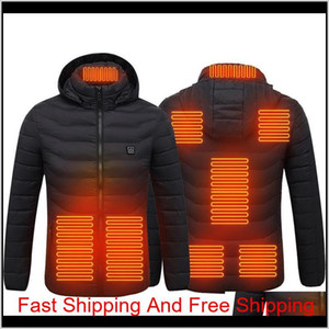 Paratago New Men Women Heating Jackets Winter Warm Usb Heated Clothing Thermal Cotton Hiking Hunting Fishin qylFtr five2010