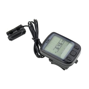 Bike Computers Accessories Cycling Sports & Outdoors Drop Delivery 2021 Bicycle Wired Lcd Pc Odometer Speedometer Waterproof + Green Backligh