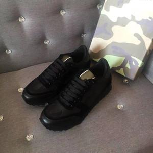 Yeni Moda Saplama Kamuflaj Sneakers Ayakkabı Ayakkabı Erkekler Ayakkabı Kadınlar Flats Tasarımcı Eğitmenler Rahat Ayakkabılar Kutusu