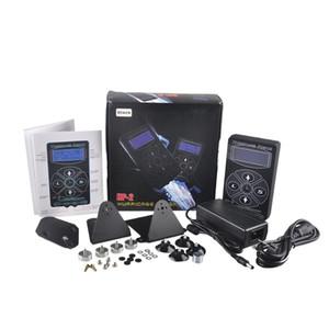 Hurricane Tattoo Power Supply HP-2 Black Digital LCD Display Tattoo Power Supply For Tattoo Machine Clip Cord Kit