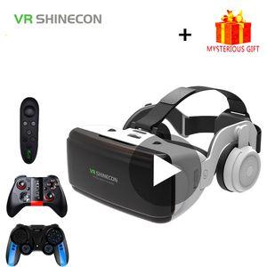 VR Shinecon Casque Casmetto 3D Glasses Realtà virtuale per smartphone Smart Phone Goggles Goggles Binocolo Video Game Wirth Lens
