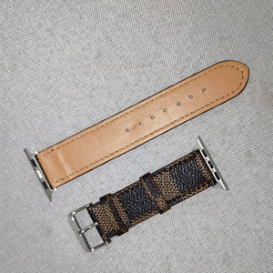 Nueva moda de reloj de reloj de alta calidad para 38 mm 40 mm 42mm 44mm para la serie 54321 pulsera de reloj de cuero de alta calidad correas pulsera de cinturón