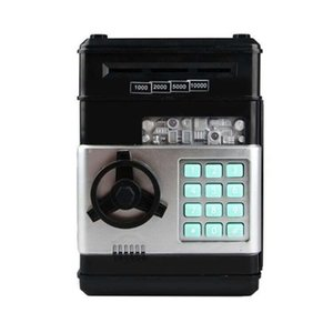 Piggy Bank Bank Money Box Money Box النقدية عملات نقدية إنقاذ ATM بنك آمن صندوق التوصيل السيارات ورقة الأوراق النقدية هدية للأطفال 57 S2