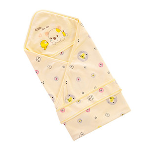 Baby Blanket Swaddling Newborn Cotton Soft Blanket Bedding Swaddles Quilt Scarf Close Knitting and Meticulous Weaving RN8131