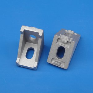 CNC DIY Accessories 2028 2020 Corner Angle L Brackets Connector Aluminum Profile
