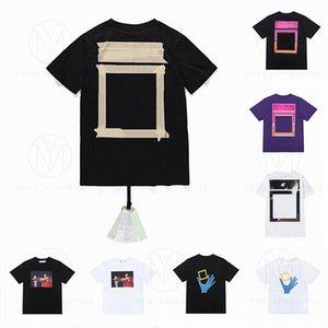 Summer Mens Mujeres Diseñadores T SHIRT Camisetas sueltas Moda Marcas Tops Hombre Casual Camisa Lujos Ropa Ropa Calle Shorts de manga Tshirts 2021