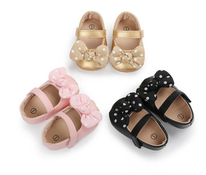 2021 Toddler Baby Girl Soft PU Princess Shoes First Walkers Infant Prewalker NEW Spring Newborn Baby Shoes