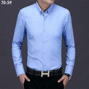2021 New Luxurys Designers Menswear Casual bussiness Shirts Classic Men Dress Shirt Men's Long Sleeve Brand New Fashion Spring Shirts #01