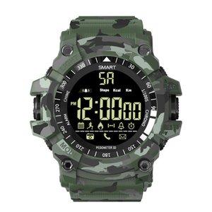 Ex16 mais relógio inteligente esportes à prova d 'água atividade tracker bluetooth pulseira inteligente pedômetro relogio inteligente relógio relógio de pulso para android ip ios ios