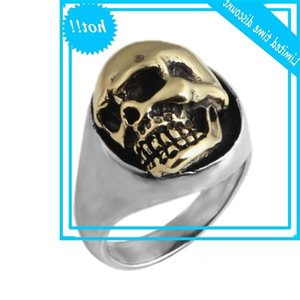 Bocai S925 Sterling Ring For Men and Women 2020 New Fashion Popular Thai Female Skull Pure Silver Rings