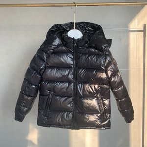 Vêtements de mode Vêtements d'hiver Enfants Veste Prevalent Enfants Capuche à capuche Vestes Garçon et fille Outwear Parka Classic Design Haute Qualité